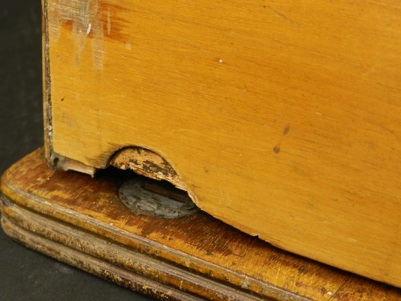 Imagen TYPO  AÑO 1915 + Caja de madera 27038