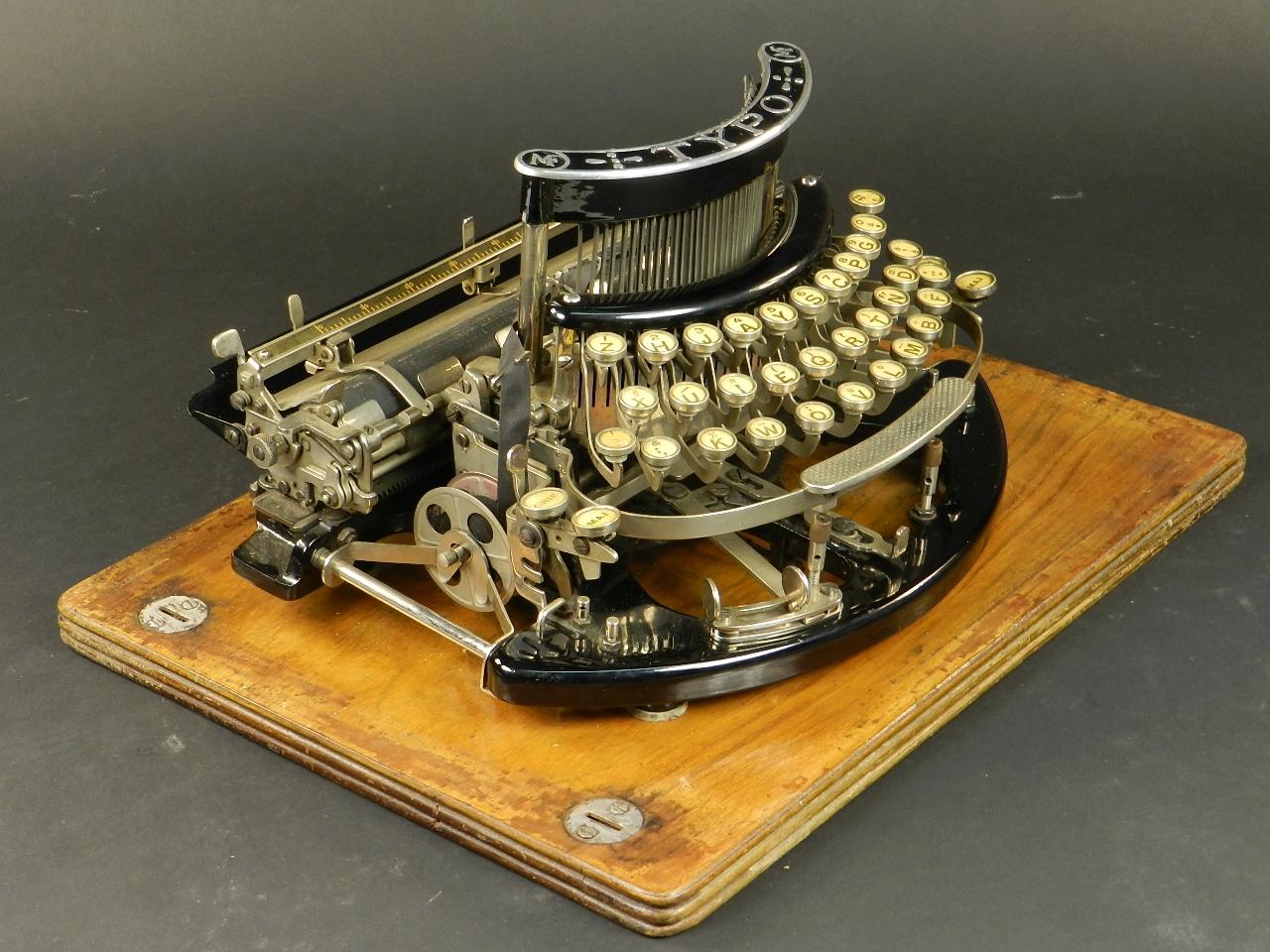 Imagen TYPO  AÑO 1915 + Caja de madera 27029
