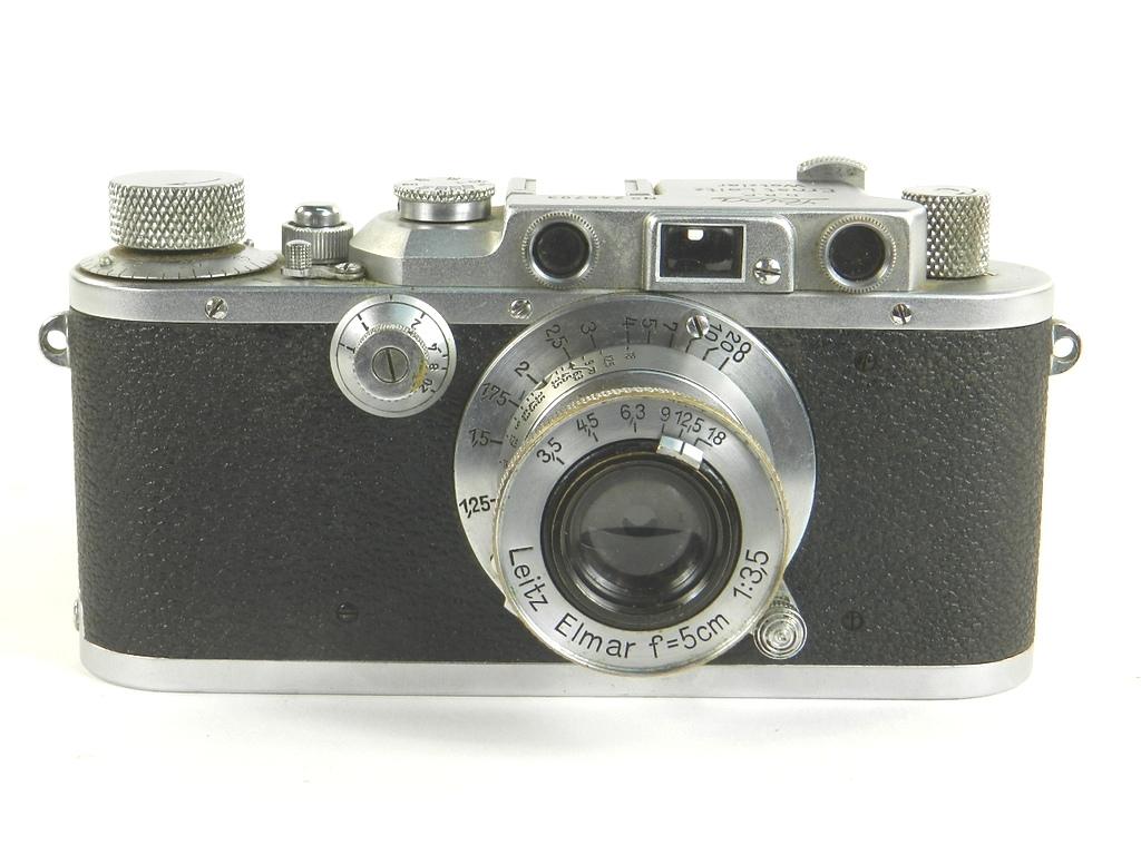Imagen ORIGINAL  LEICA IIIa  AÑO 1937 27097