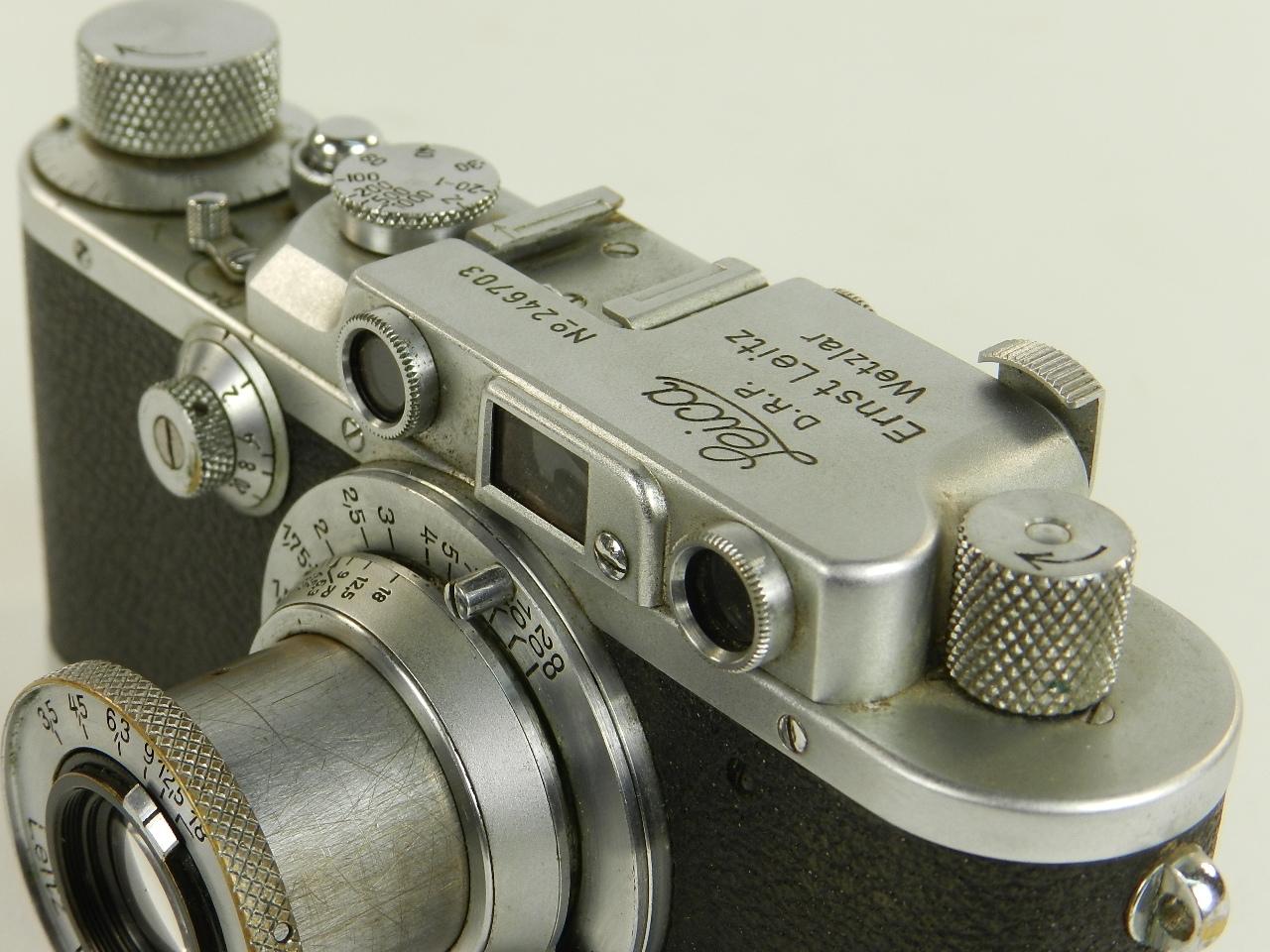 Imagen ORIGINAL  LEICA IIIa  AÑO 1937 27101
