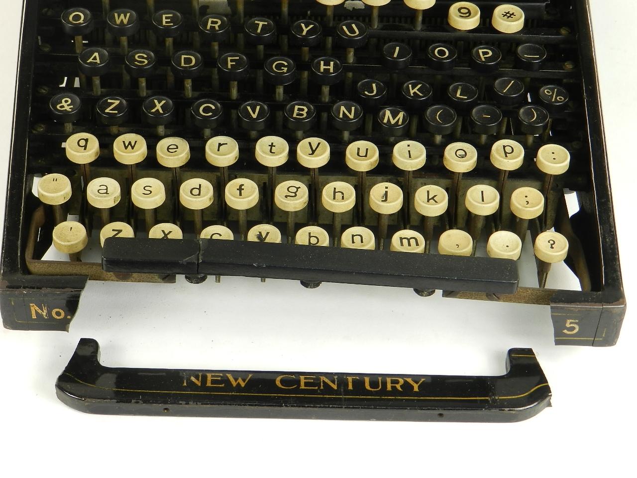 Imagen NEW CENTURY CALIGRAPH Nº5  AÑO 1897 27128