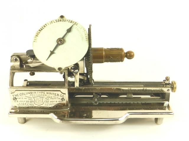 COLUMBIA INDEX No.2   AÑO 1885