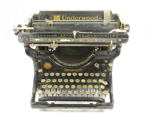 UNDERWOOD Nº3 AÑO 1901