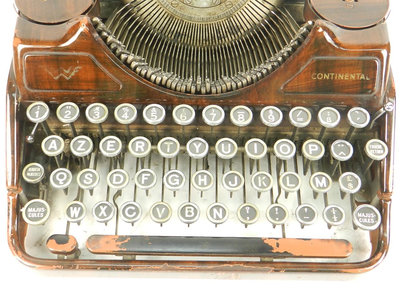 Imagen RARA CONTINENTAL COLOR MARRÓN AÑO 1935 27409