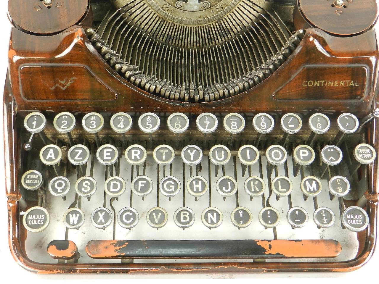 Imagen RARA CONTINENTAL COLOR MARRÓN AÑO 1935 27410