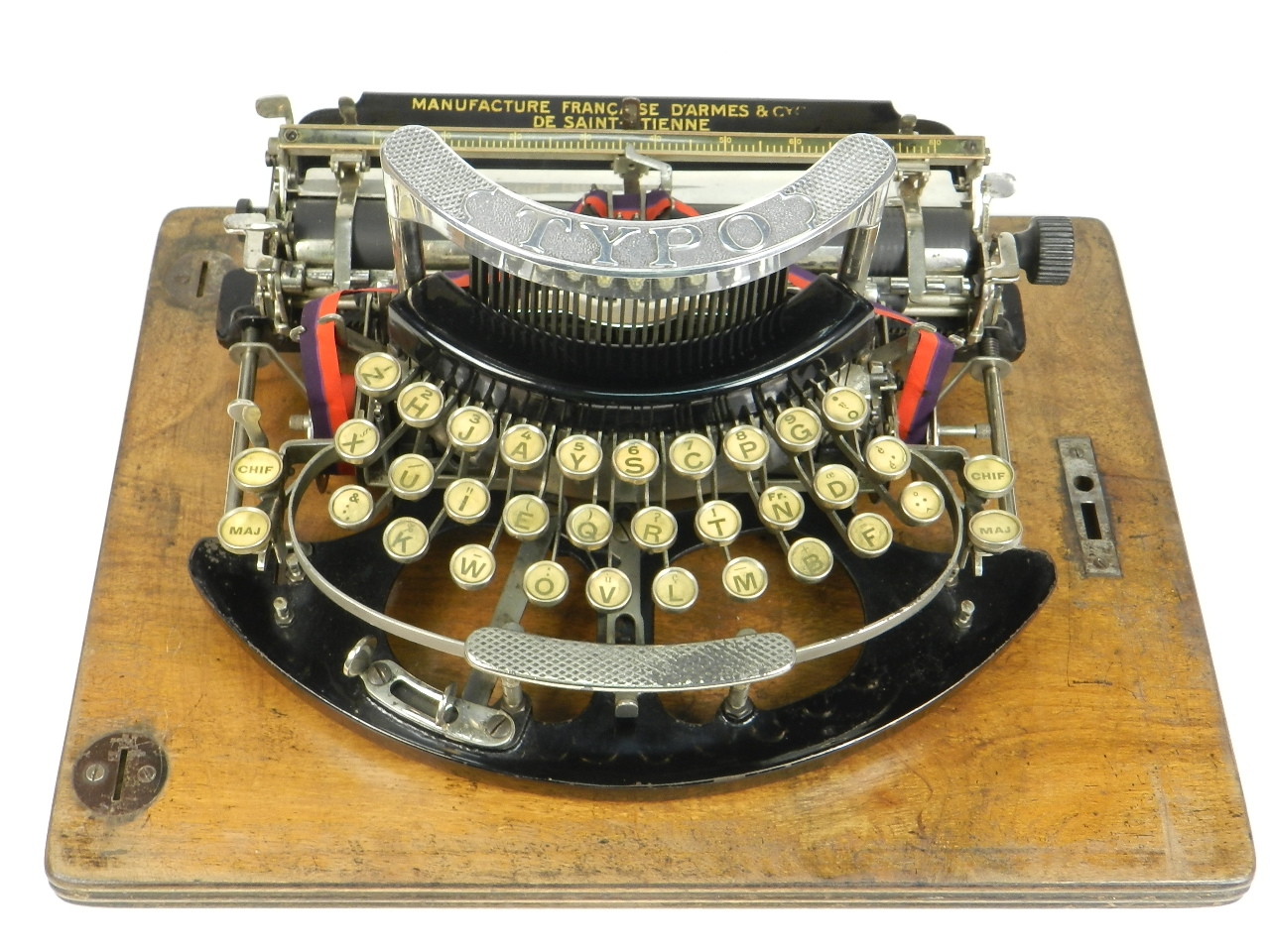 Imagen TYPO  AÑO 1915 + Caja de madera 27685
