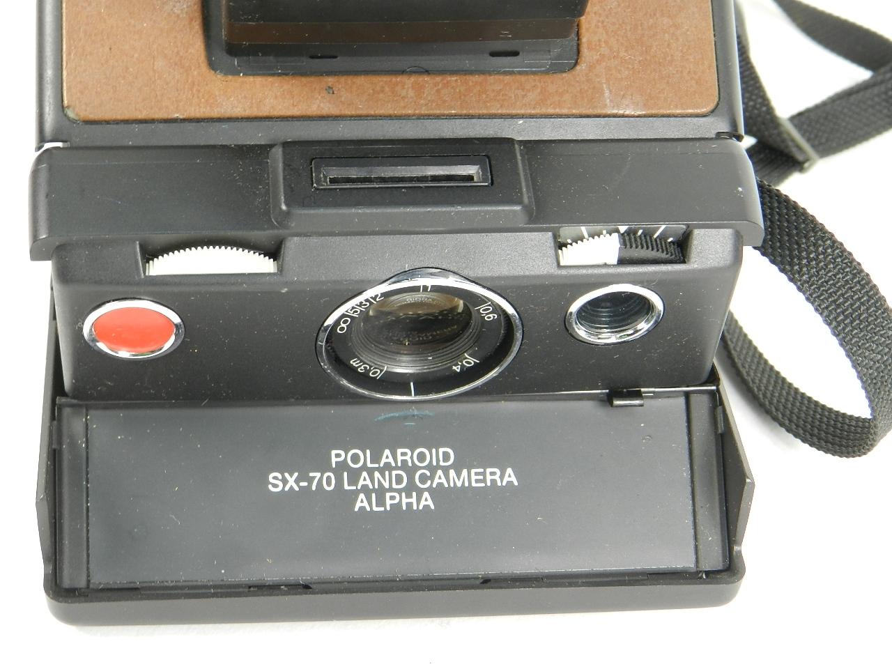 Imagen POLAROID SX-70 LAND CAMERA ALPHA 27774