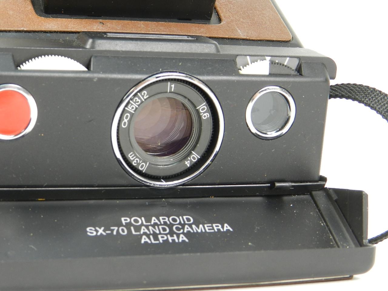 Imagen POLAROID SX-70 LAND CAMERA ALPHA 27775