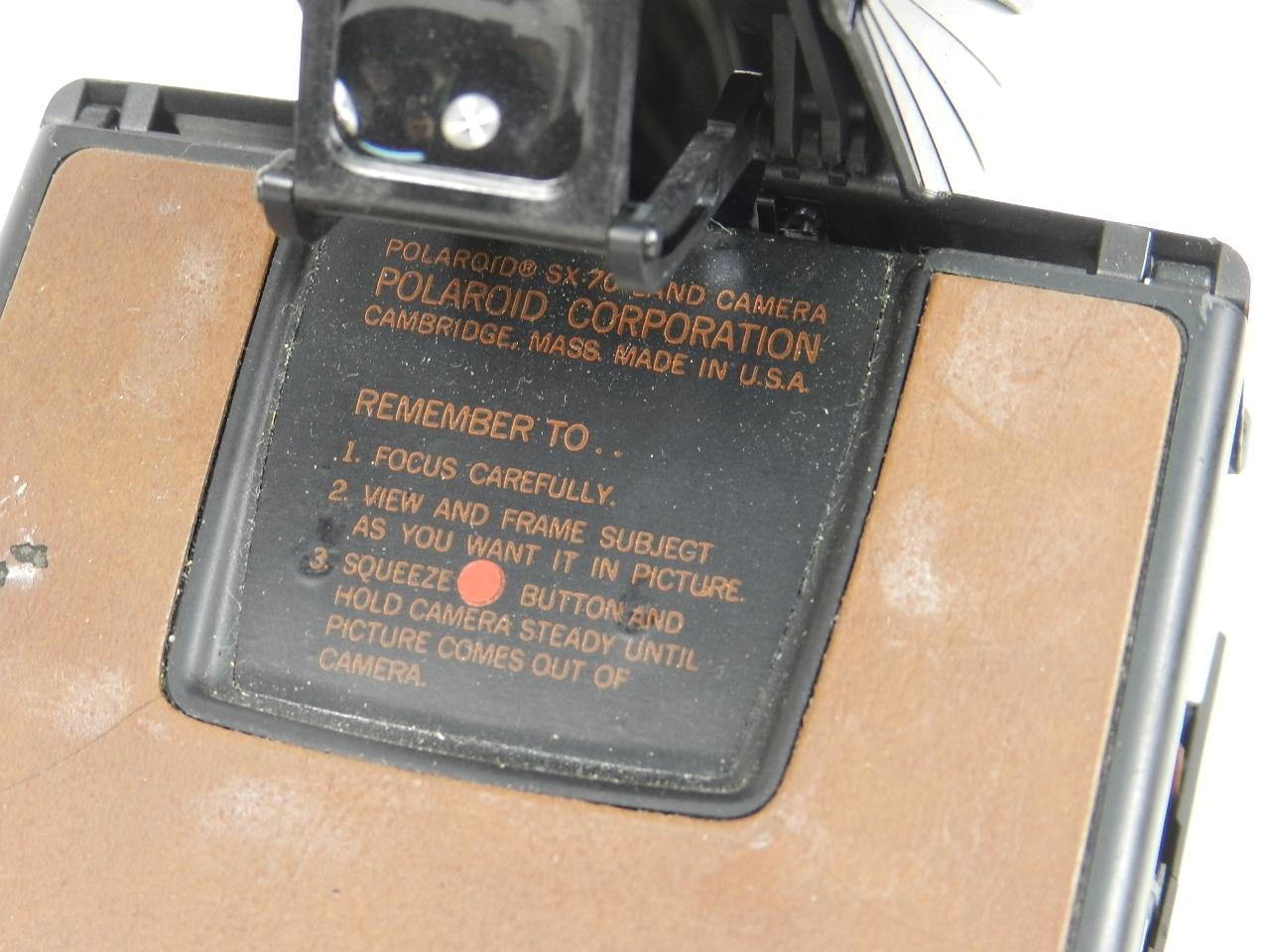 Imagen POLAROID SX-70 LAND CAMERA ALPHA 27779