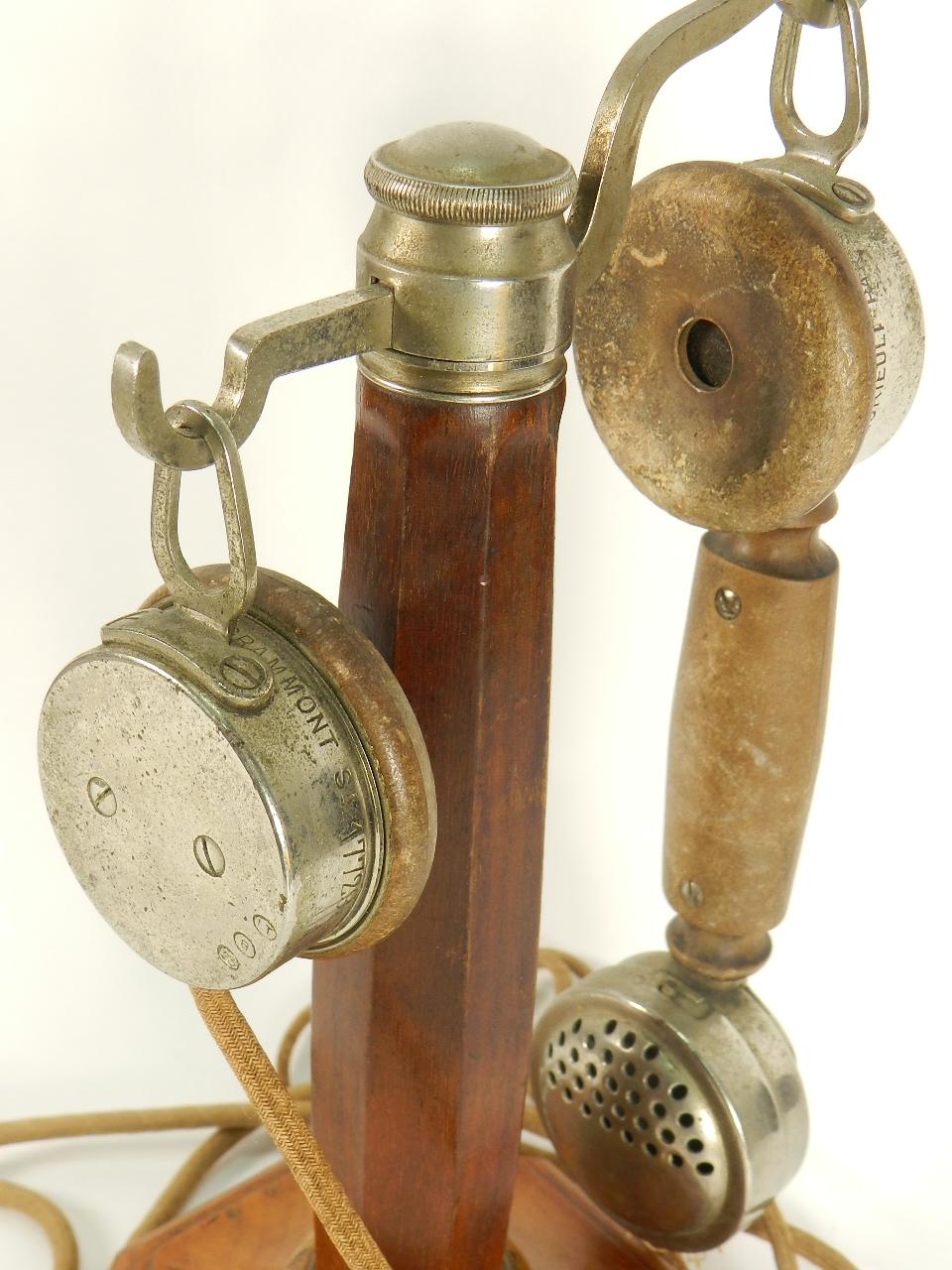 Imagen TELÉFONO DE COLUMNA GRAMMONT AÑO 1920 27806