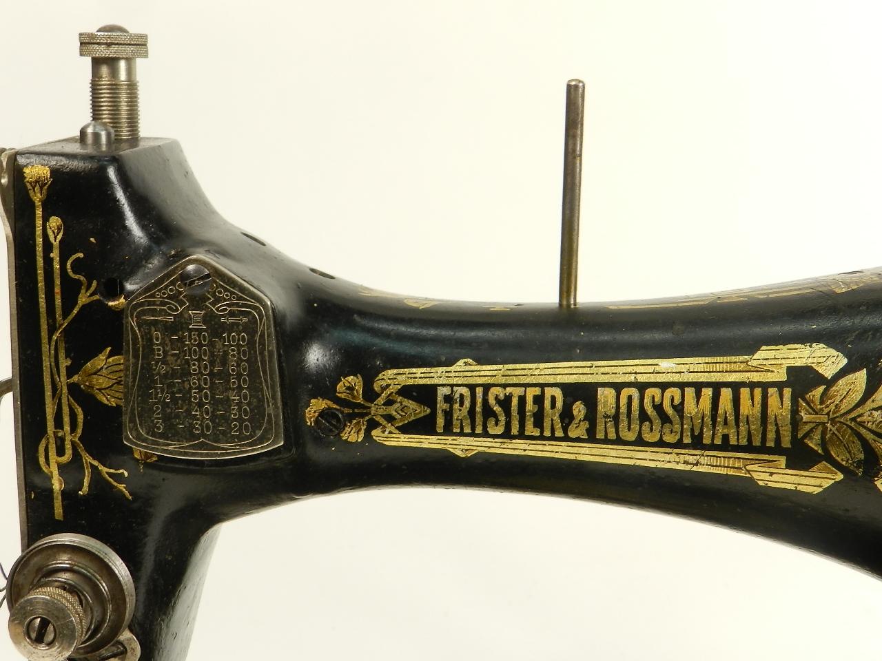 Imagen FRISTER & ROSSMANN  AÑO 1909 27894