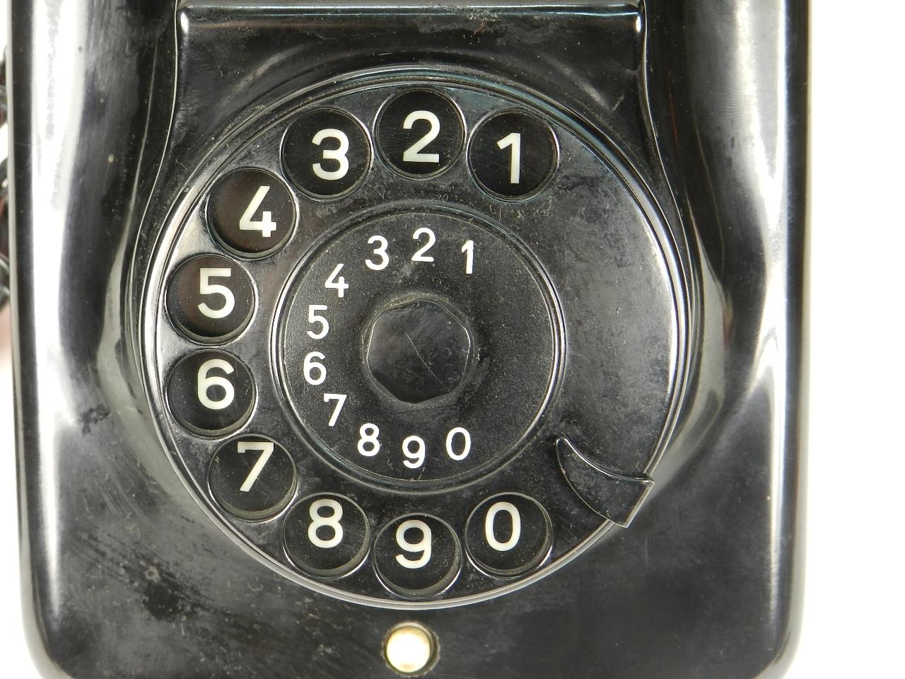 Imagen TELÉFONO DE PARED W49  AÑO 1950 27940