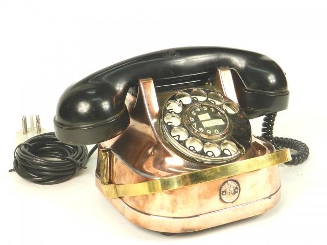 TELÉFONO DE COBRE AÑO 1940