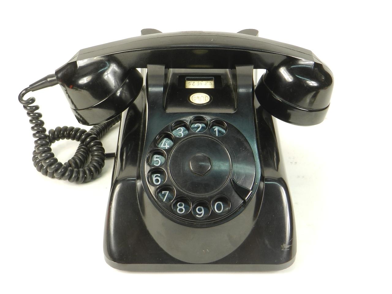 Imagen TELÉFONO PTT BAQUELITA AÑO 1950 28004