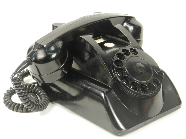 TELÉFONO PTT BAQUELITA AÑO 1950