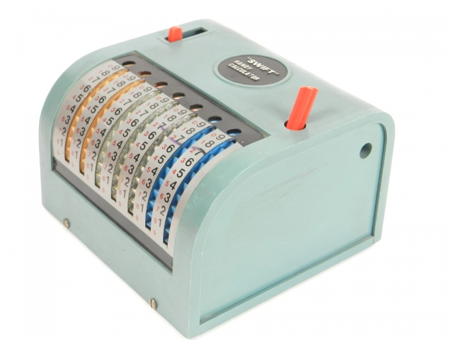 SWIFT HANDY CALCULATOR  AÑO 1960