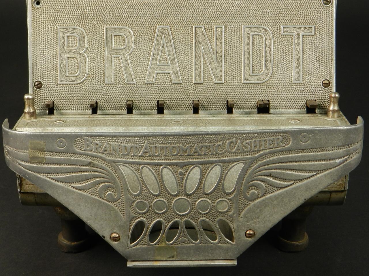 Imagen BRANDT AUTOMATIC CASHIER AÑO 1910 28066