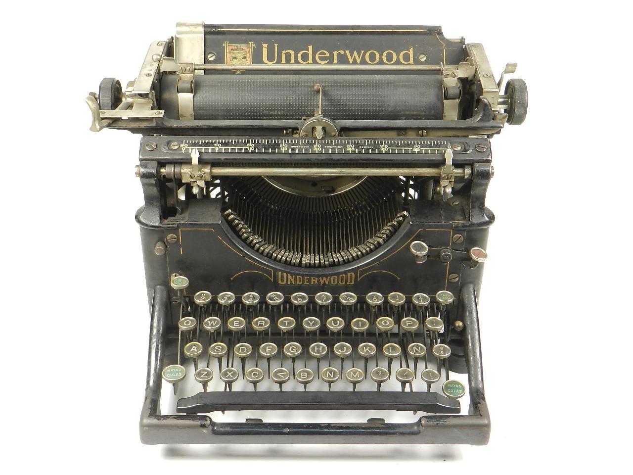 Imagen UNDERWOOD  Nº5  AÑO 1924 28409