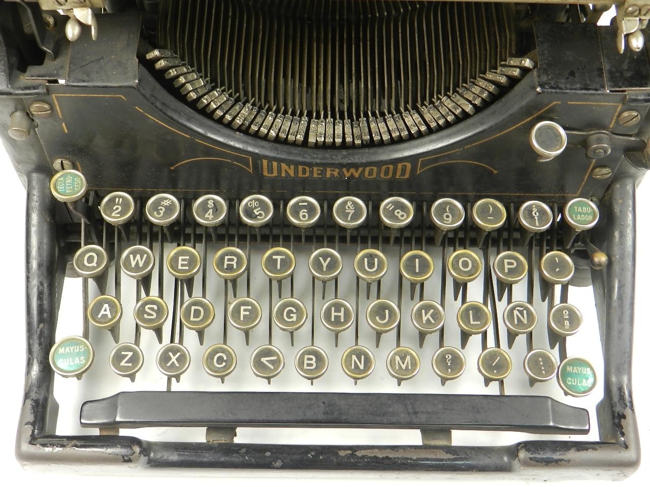 Imagen UNDERWOOD  Nº5  AÑO 1924 28411