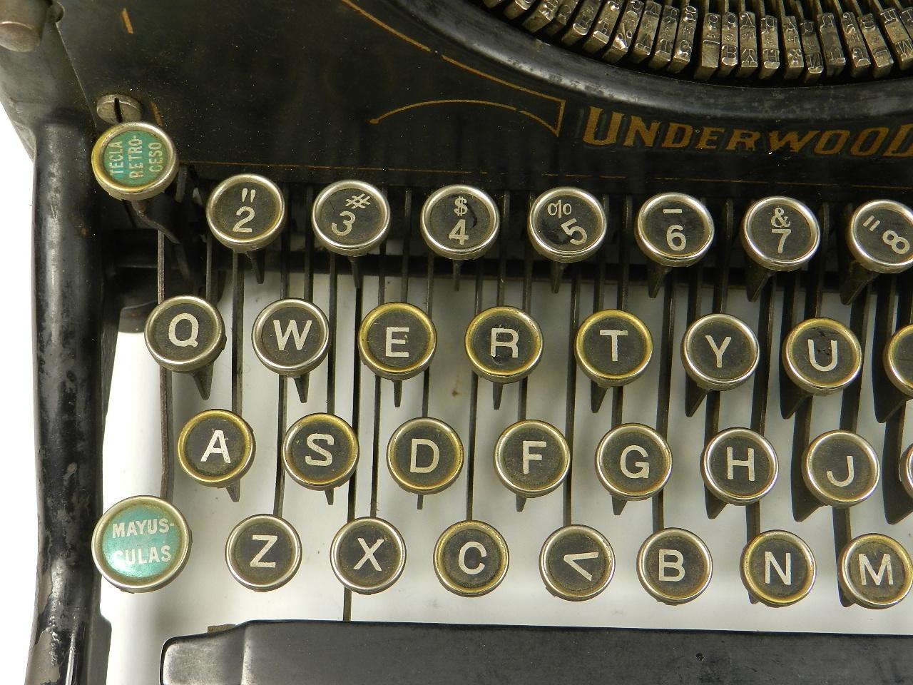 Imagen UNDERWOOD  Nº5  AÑO 1924 28412