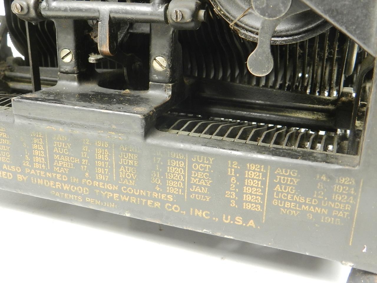Imagen UNDERWOOD  Nº5  AÑO 1924 28418