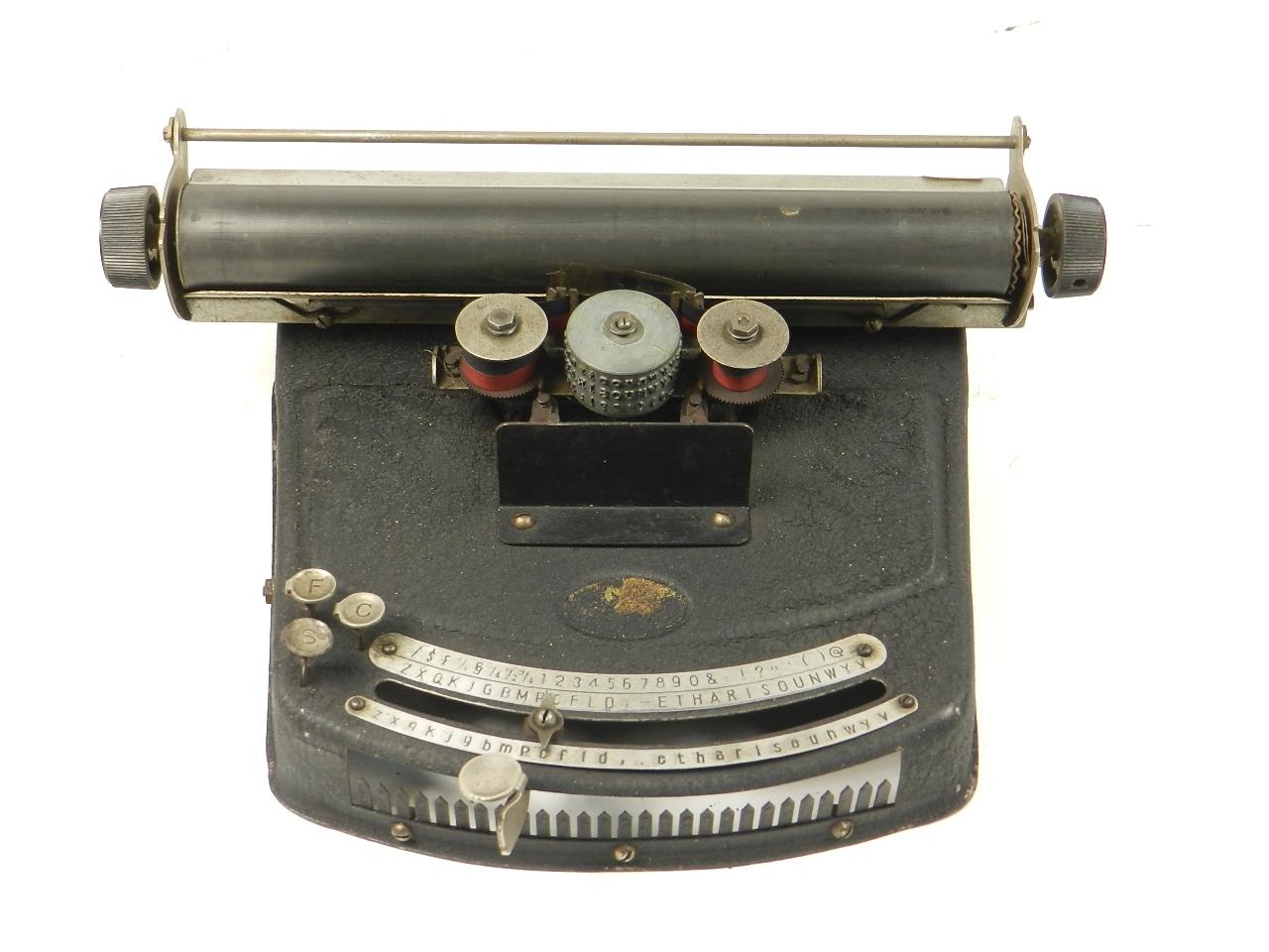Imagen MÁQUINA DE INDEX JUNIOR AÑO 1930 28438