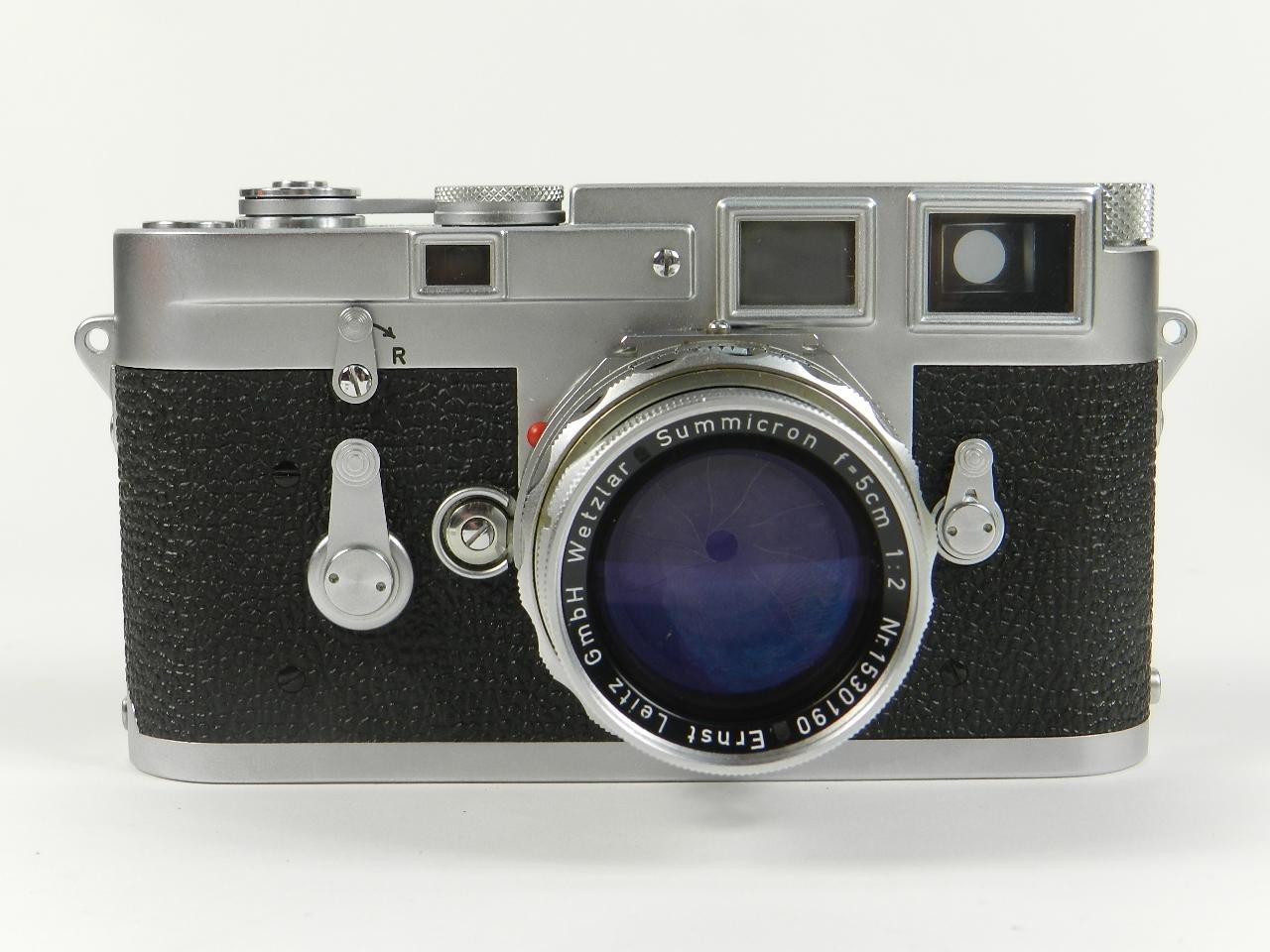 Imagen LEICA M3 AÑO 1957 + 4 OBJETIVOS + EXTRAS 28532