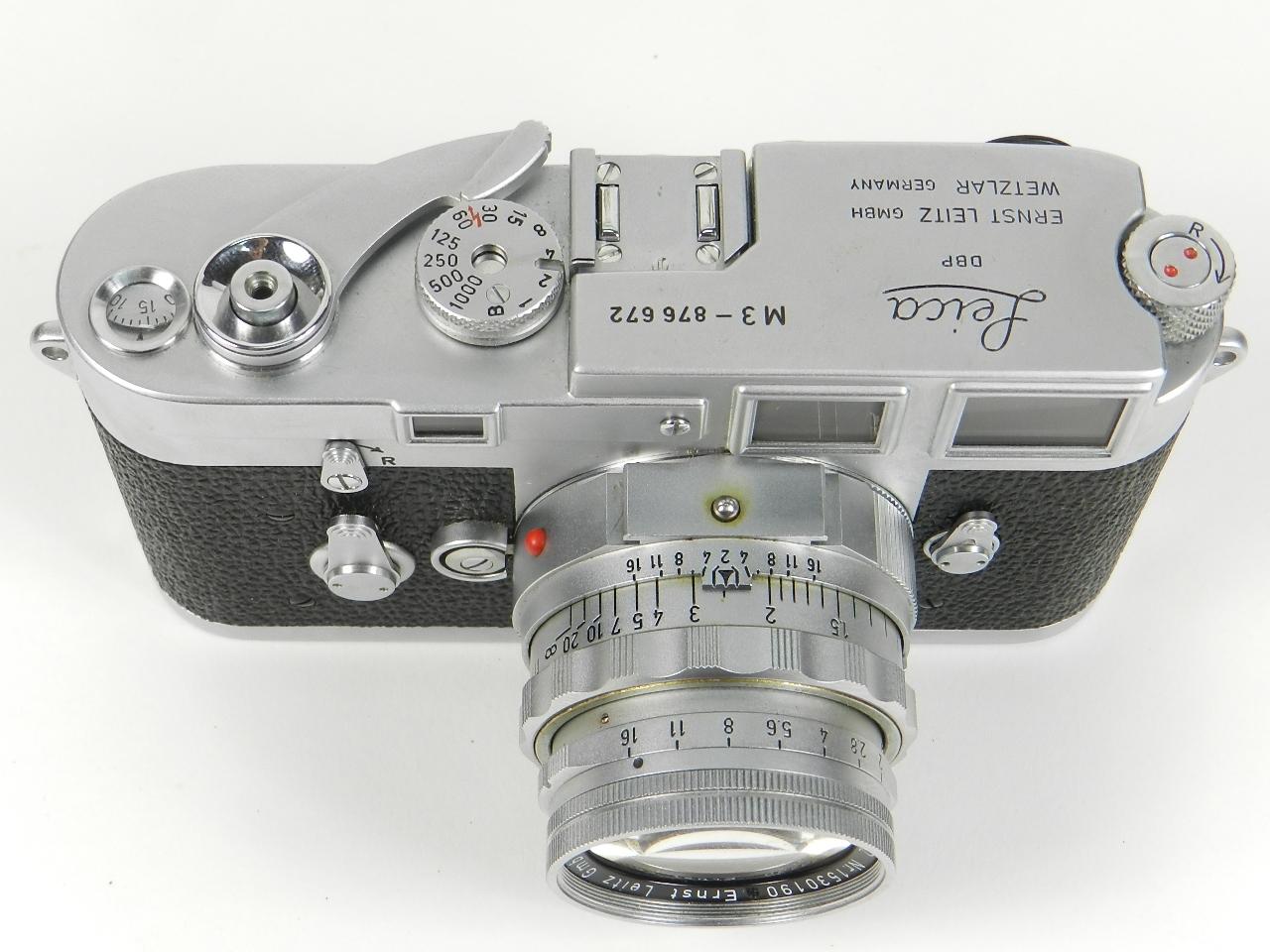 Imagen LEICA M3 AÑO 1957 + 4 OBJETIVOS + EXTRAS 28533