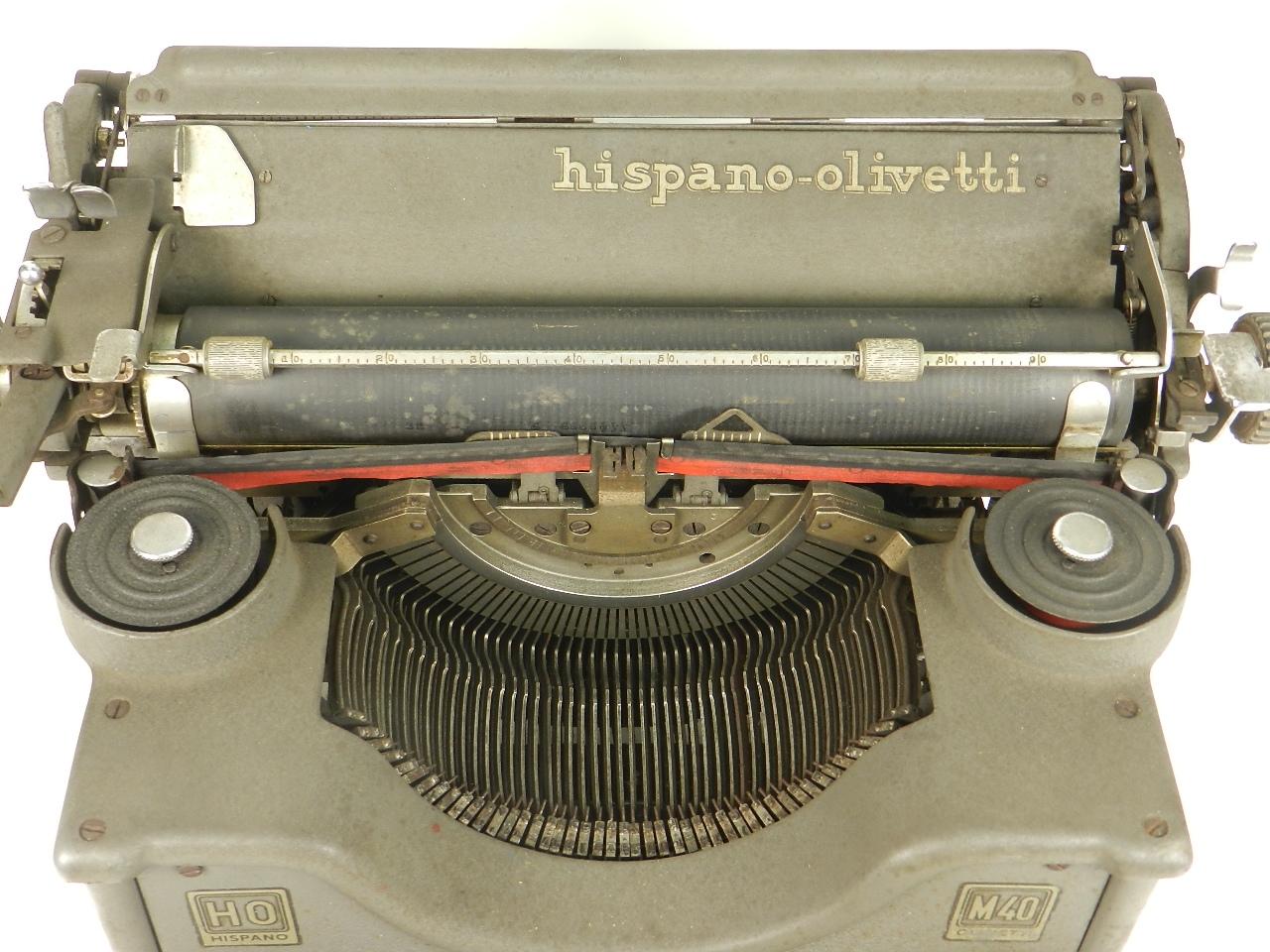 Imagen HISPANO OLIVETTI M40  28644