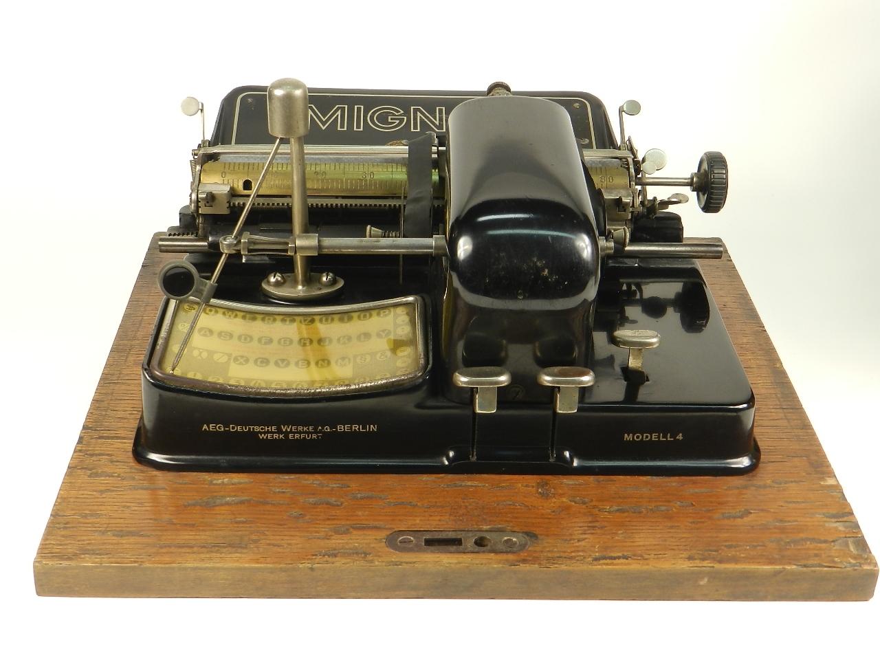Imagen MIGNON Nº4   AÑO 1924. RAREZA: TECLADO ESPAÑOL 28651