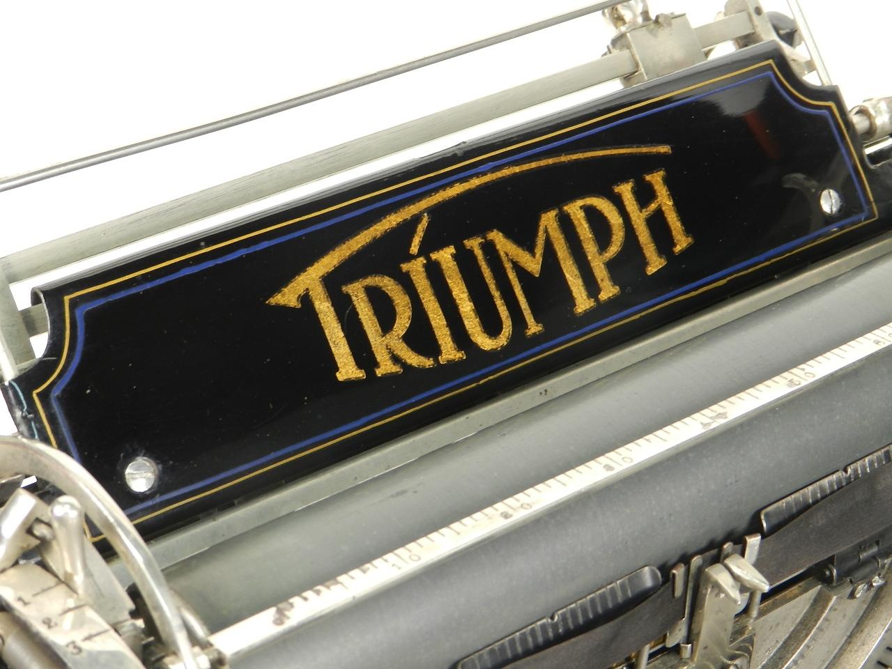 Imagen TRIUMPH Nº1  AÑO 1909 28757
