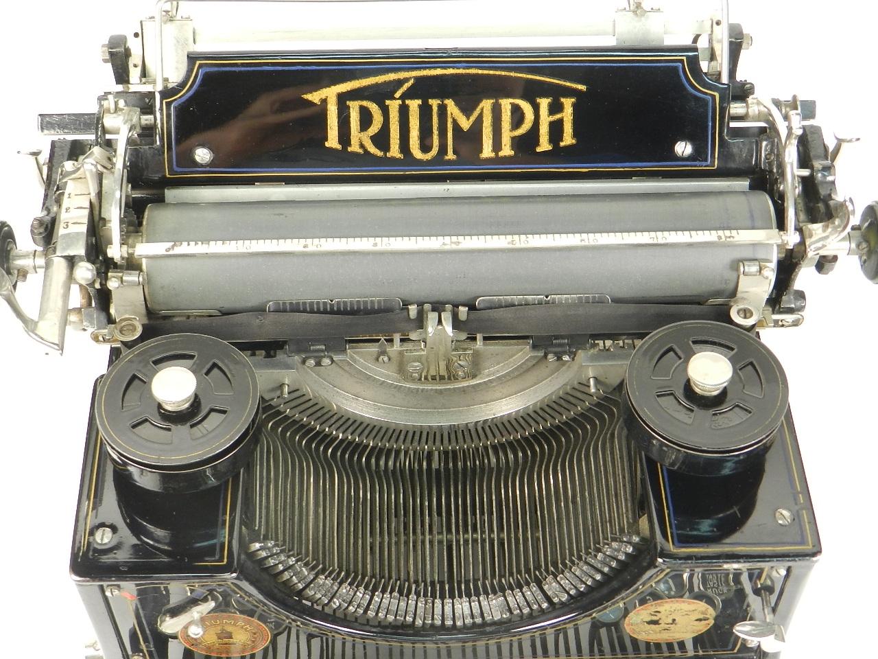 Imagen TRIUMPH Nº1  AÑO 1909 28759