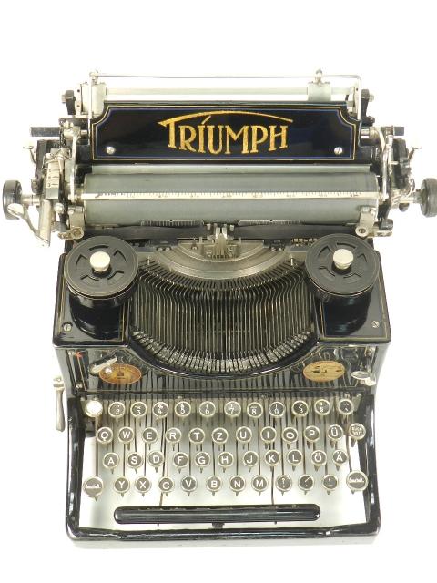 TRIUMPH Nº1  AÑO 1909