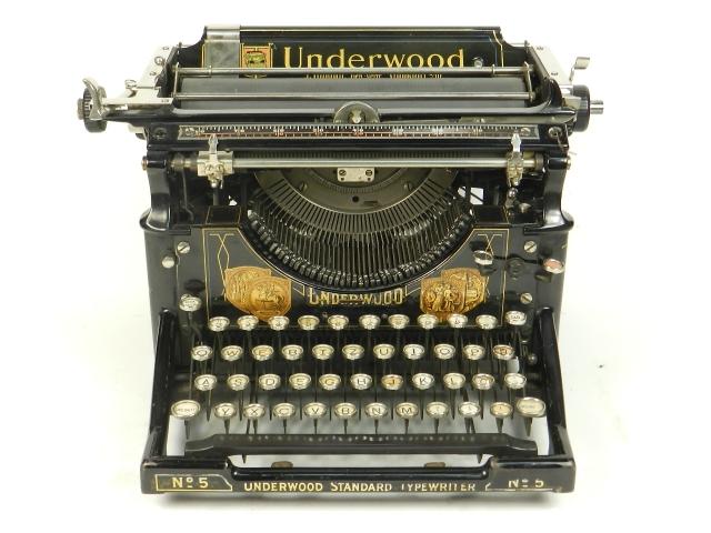 RARA UNDERWOOD Nº5  AÑO 1913