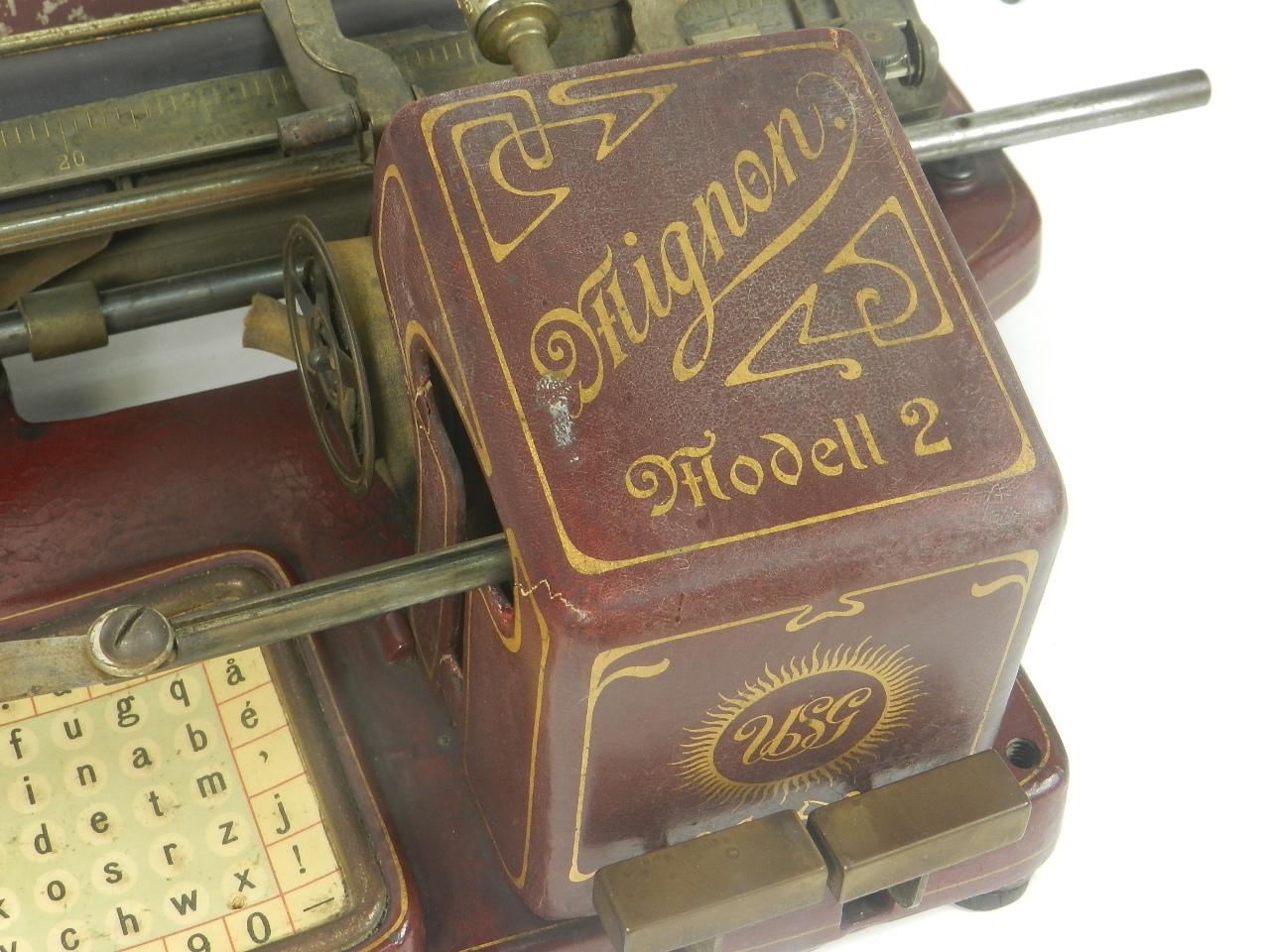 Imagen MIGNON Nº2 AÑO 1905 COLOR ROJO...RARÍSIMA 29456