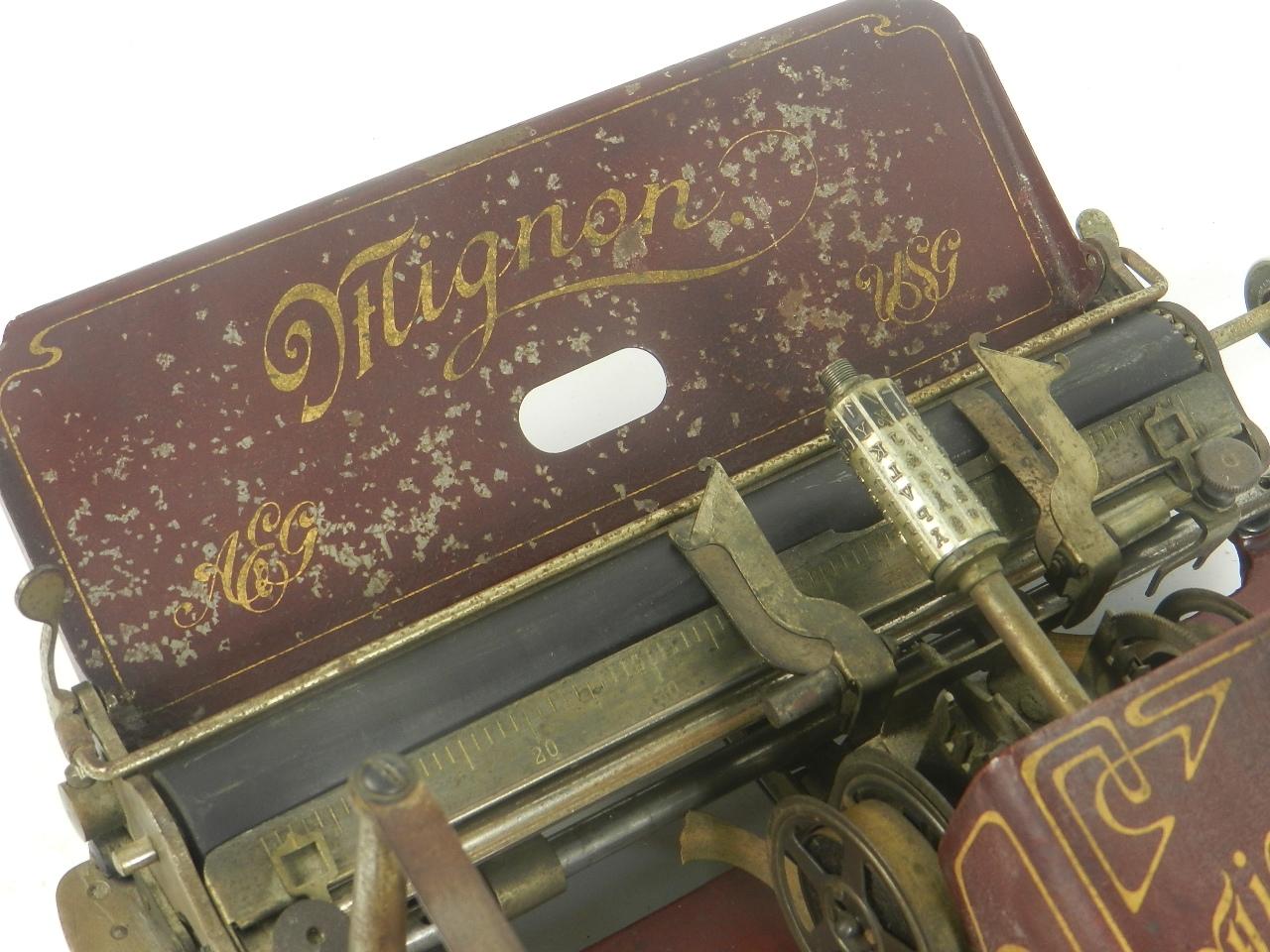 Imagen MIGNON Nº2 AÑO 1905 COLOR ROJO...RARÍSIMA 29460