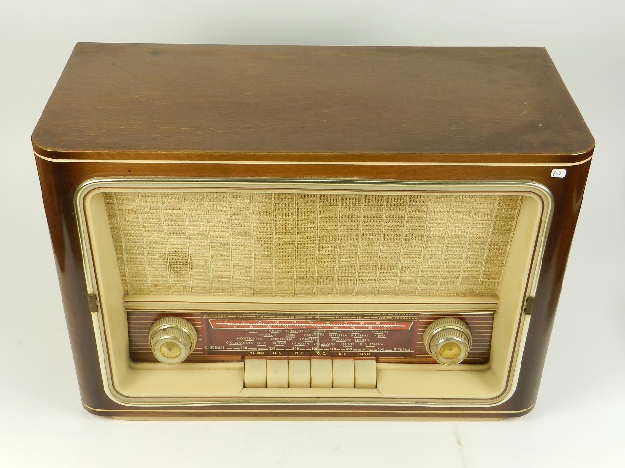 Imagen RADIO ANTIGUA AÑO 1958 29480