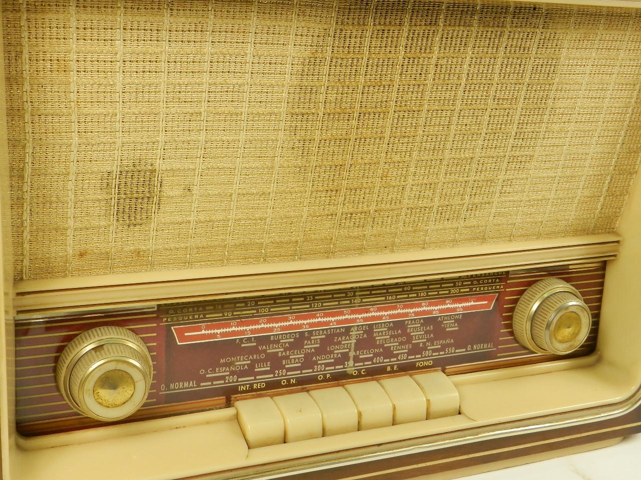Imagen RADIO ANTIGUA AÑO 1958 29483