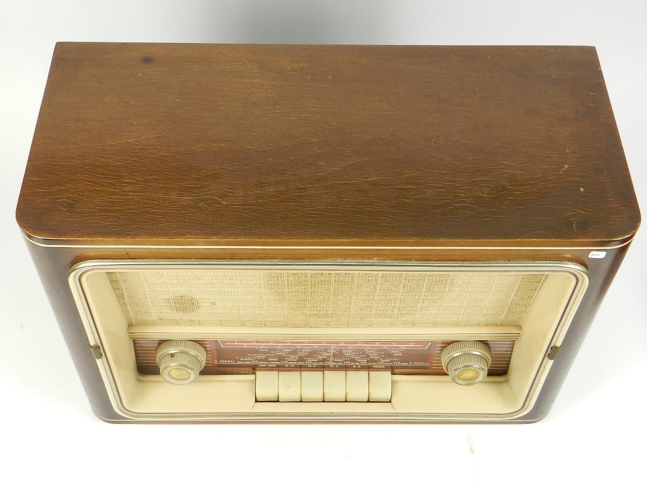Imagen RADIO ANTIGUA AÑO 1958 29484