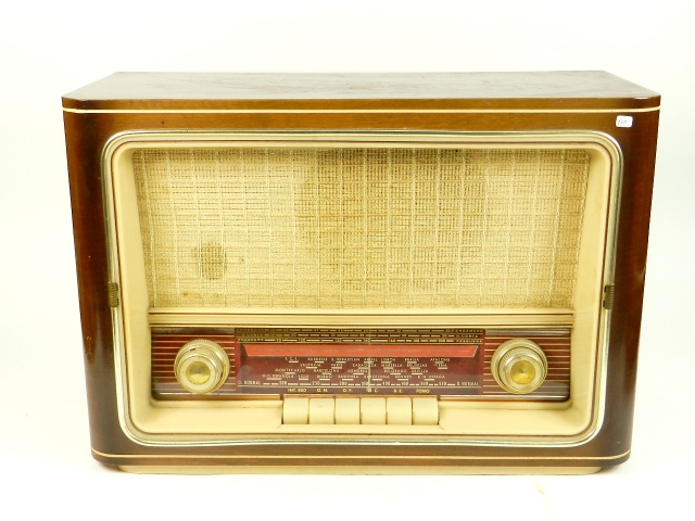 RADIO ANTIGUA AÑO 1958