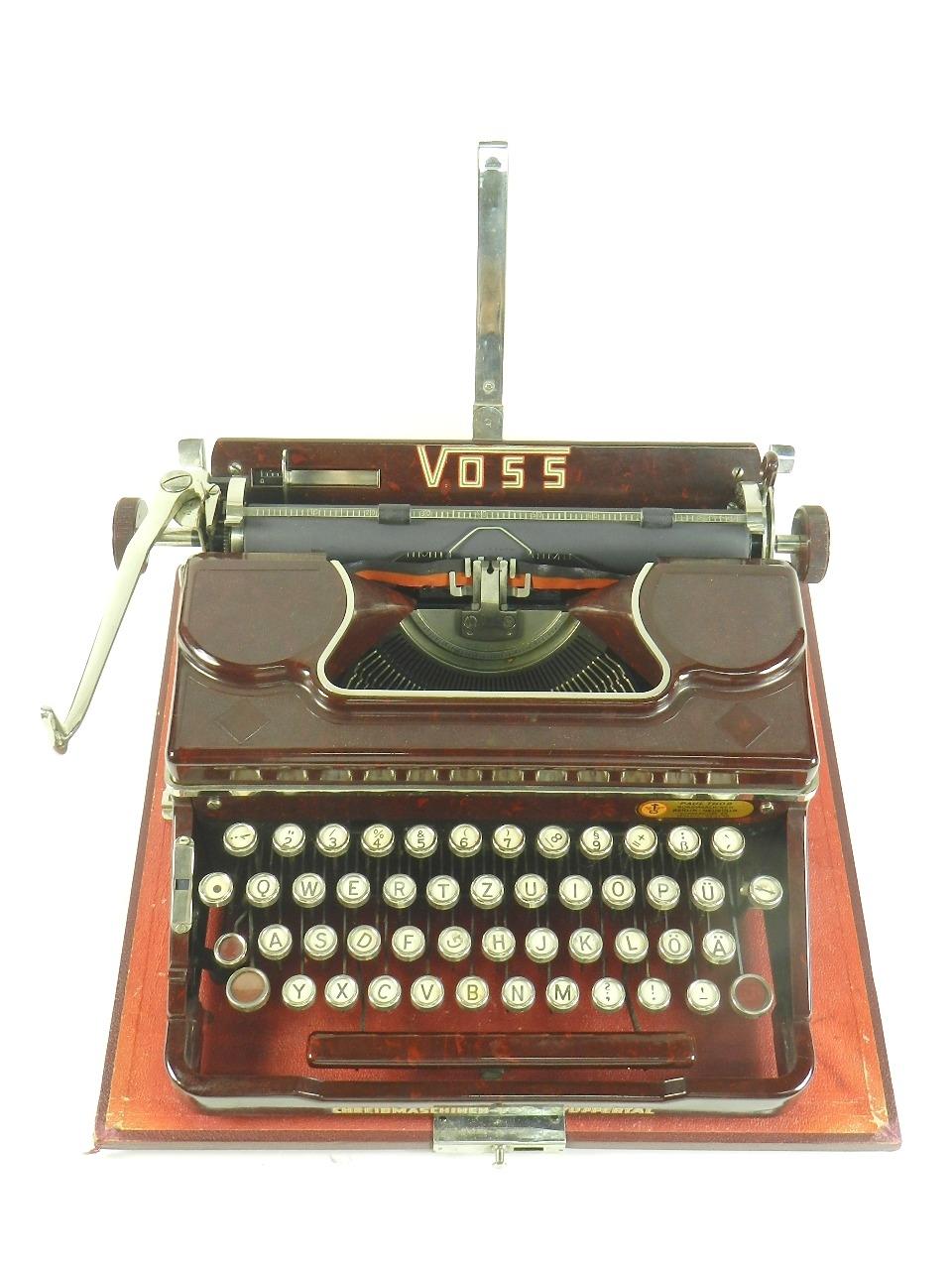 Imagen VOSS AÑO 1950  BAQUELITA ROJA 29630