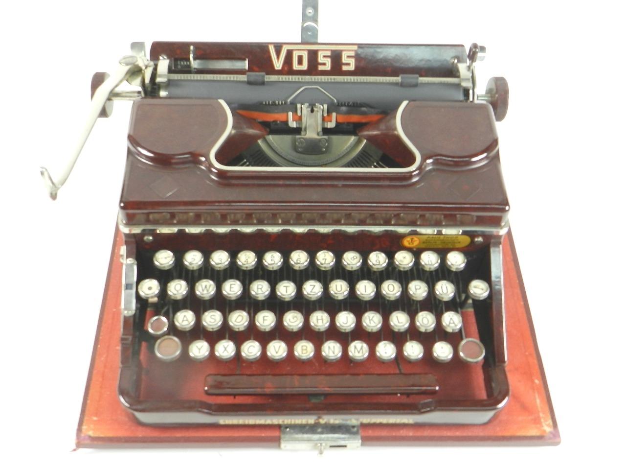 Imagen VOSS AÑO 1950  BAQUELITA ROJA 29631