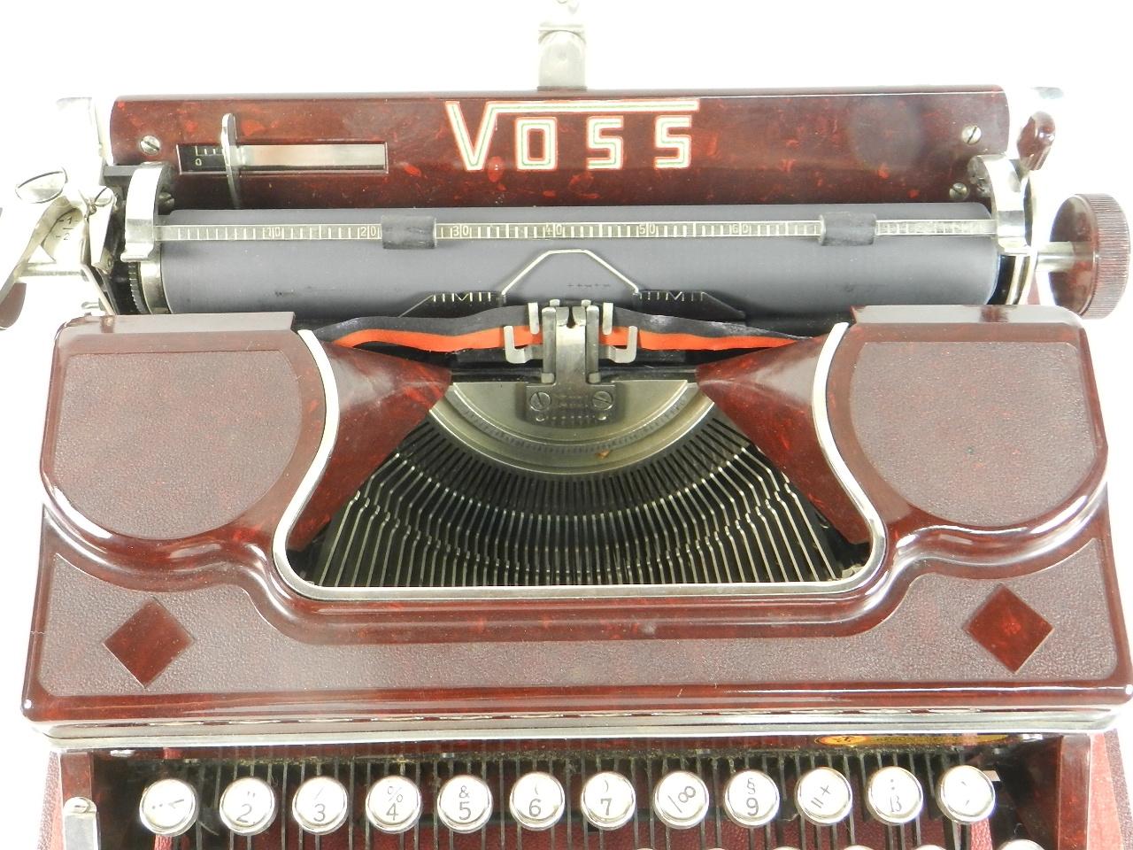 Imagen VOSS AÑO 1950  BAQUELITA ROJA 29635