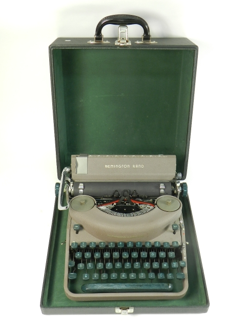 REMINGTON RAND NOISELESS 7 AÑO 1952