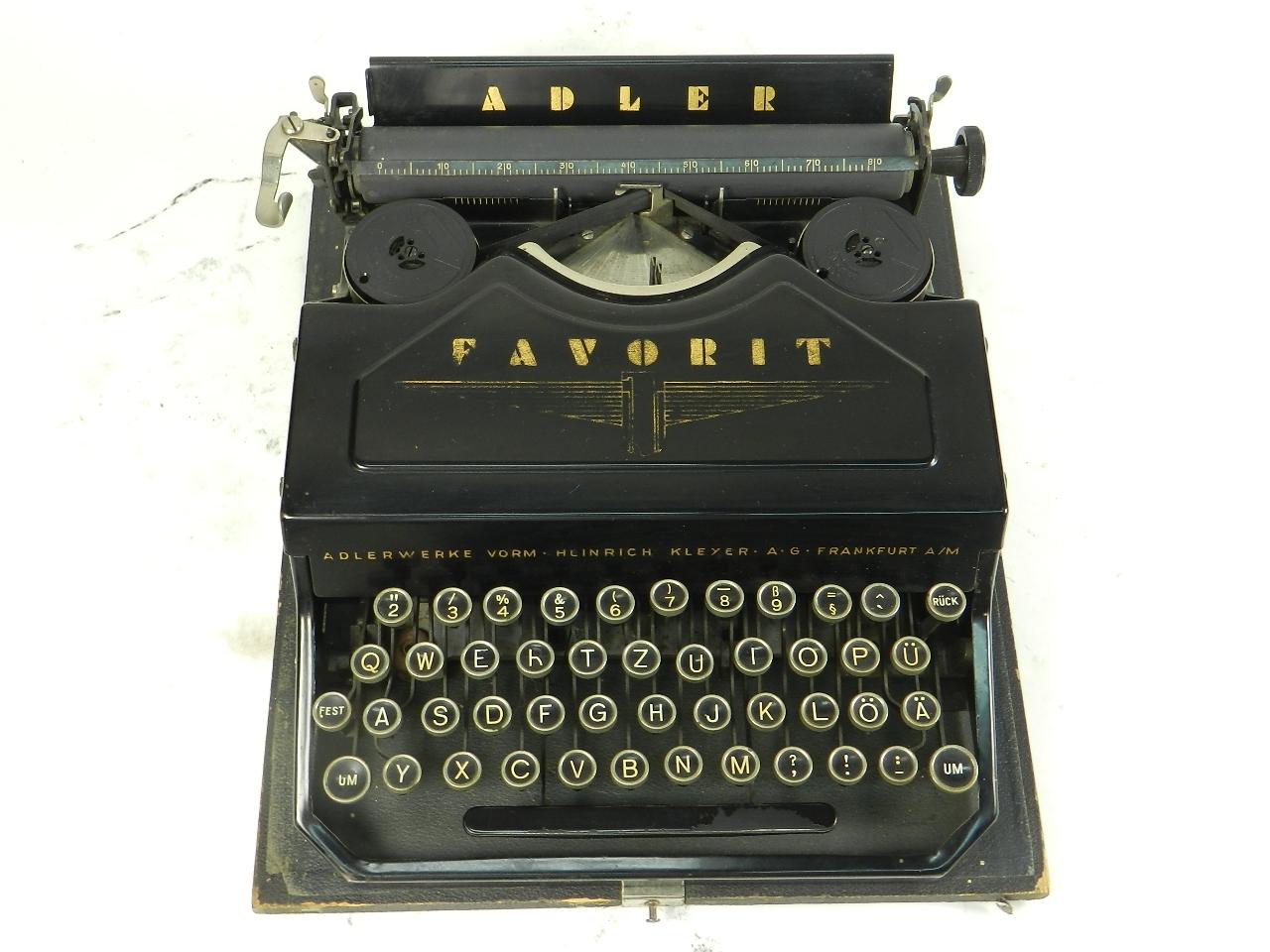 Imagen ADLER FAVORIT Nº1  AÑO 1935 29694