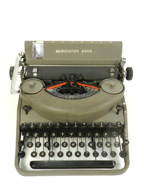 REMINGTON RAND NOISELESS 7 AÑO 1947