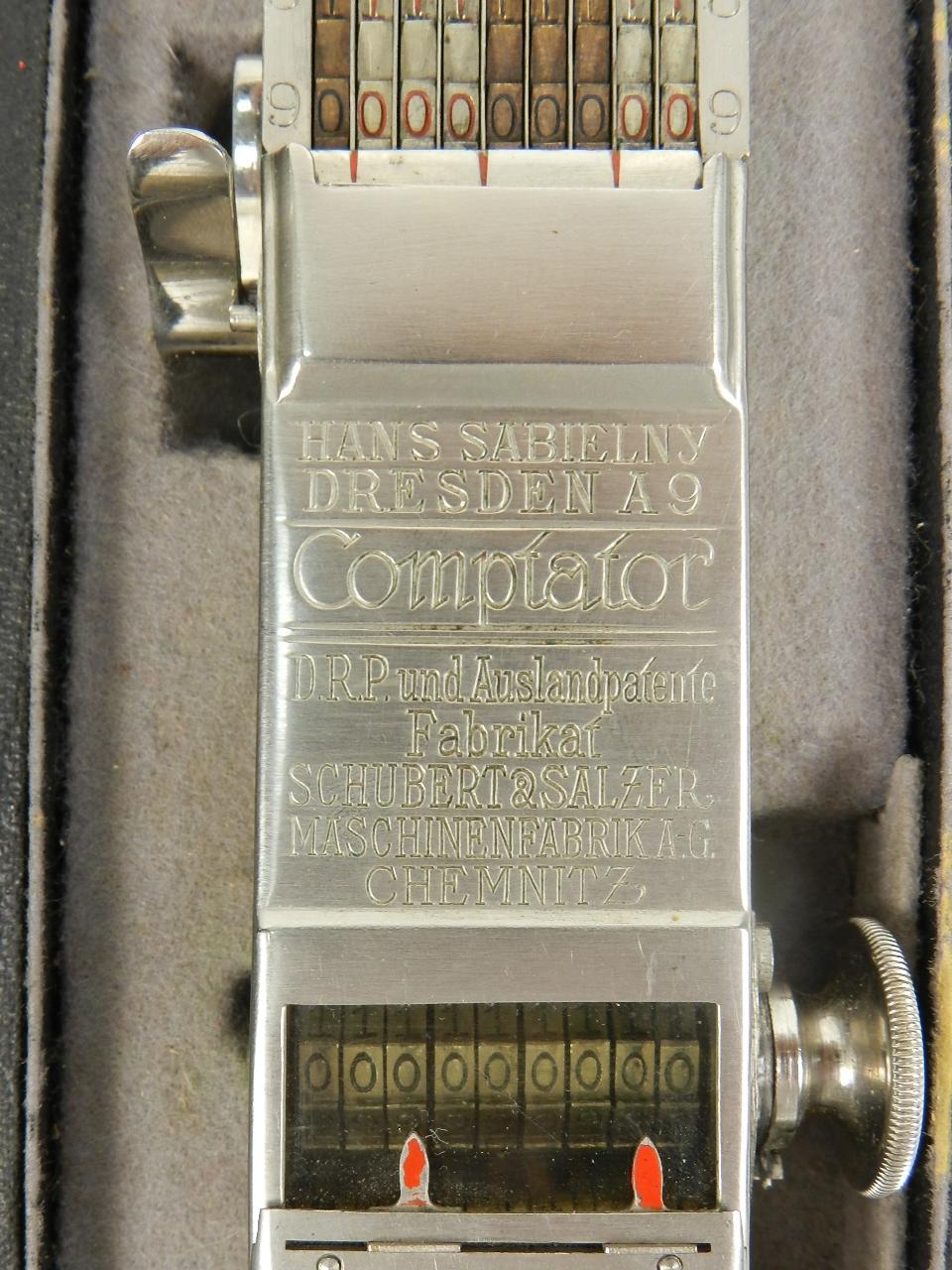 Imagen COMPTATOR  A9  AÑO 1922 29780