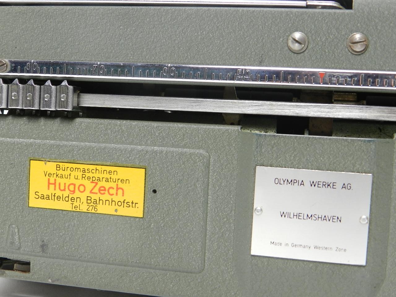 Imagen OLYMPIA SM3 AÑO 1955 29809