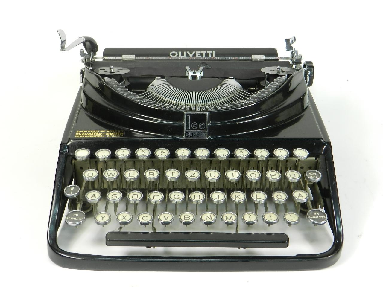 Imagen OLIVETTI  ICO   MP1  AÑO 1932 29818