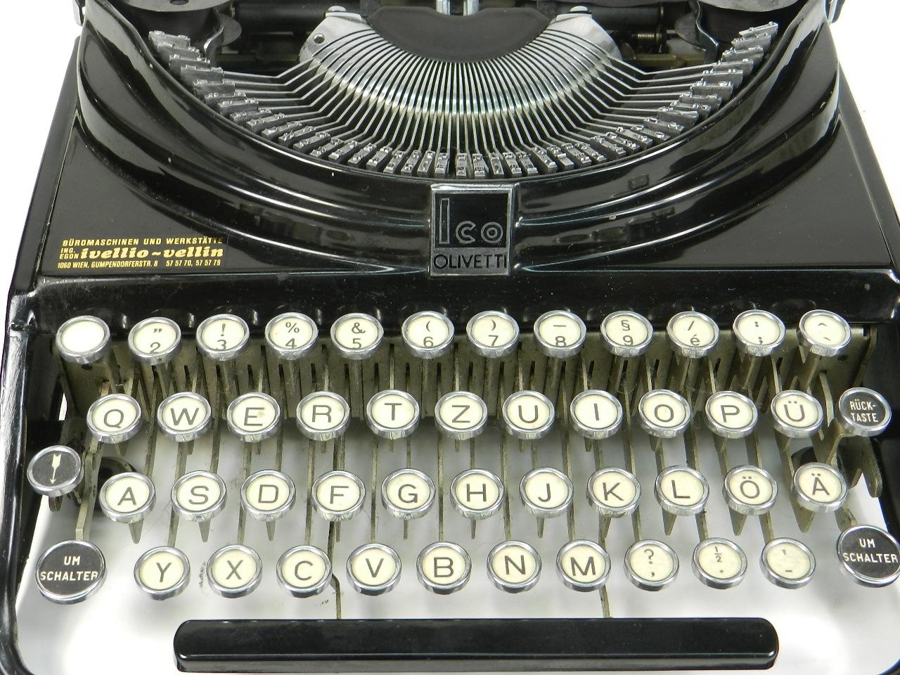 Imagen OLIVETTI  ICO   MP1  AÑO 1932 29821